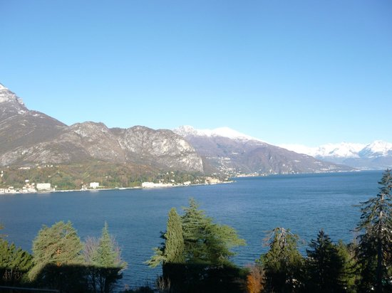Lake Como view from room balcony