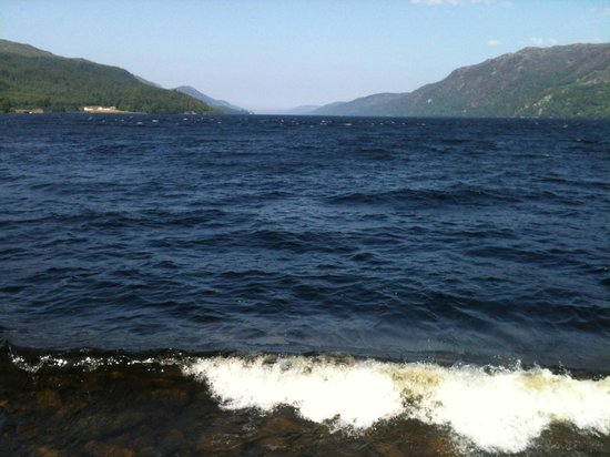 Loch Ness Highland Cottages: Loch Ness from Fort Augustus