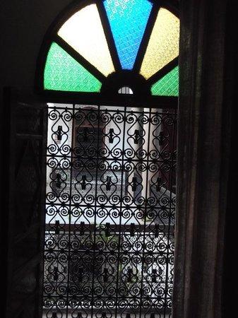 Dar Malaika : detail fenêtre