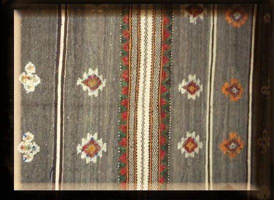 Dar Malaika: detail tapis