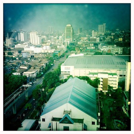 Siam@Siam Design Hotel Bangkok: View from our room