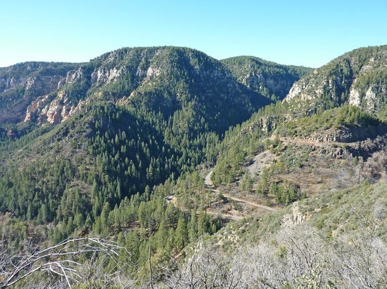 Oak Creek Canyon : 1