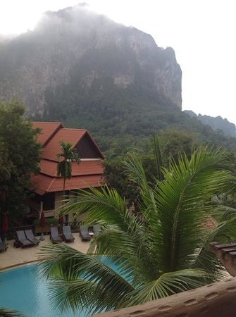 Vogue Resort & Spa Ao Nang: balcony view from our room