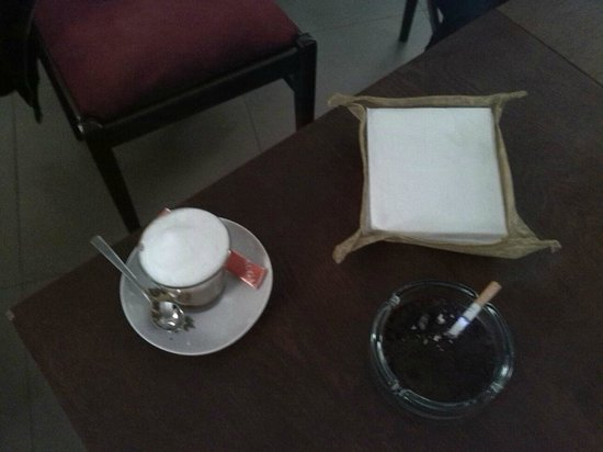 Cafe78 Tbilisi: latte 2