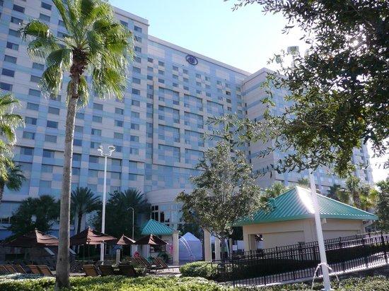Hilton Orlando Bonnet Creek : View of Hotel