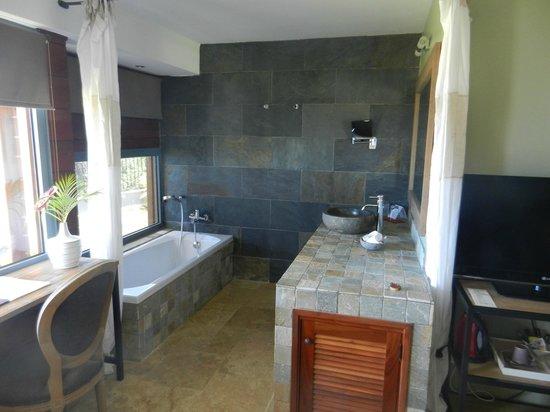 La salle de bain intégrée à la chambre - Photo de Diana Dea Lodge ...