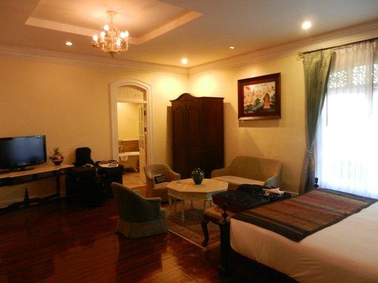 Villa Santi Hotel: chambre