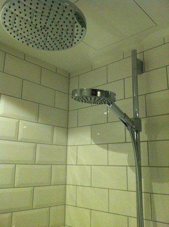 Loewen Hotel Montafon: Shower