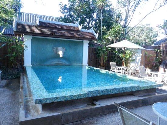 Villa Santi Hotel : la petit piscine