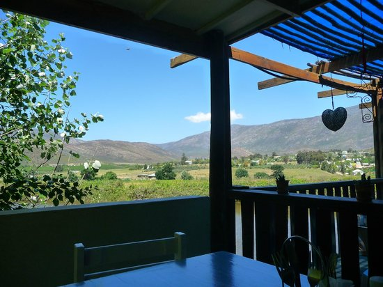 The Blue Cow: View from outdoor tables