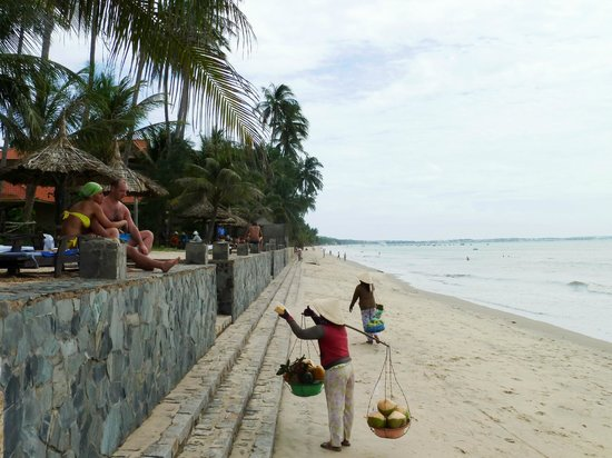 Grace Boutique Resort : endless beach