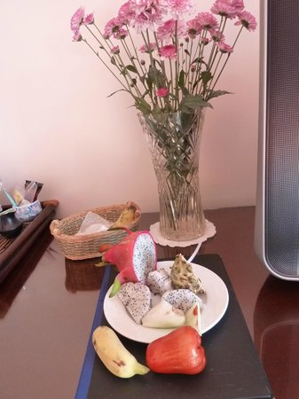 Grace Boutique Resort : nice touches: fresh fruit and flowers every day