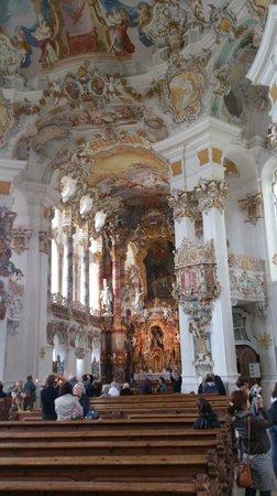 Wieskirche: 祭壇