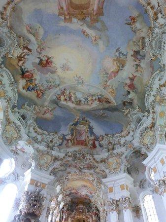 Wieskirche: 天井画