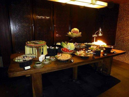 AYANA Resort and Spa: Büffet im Padi restaurant