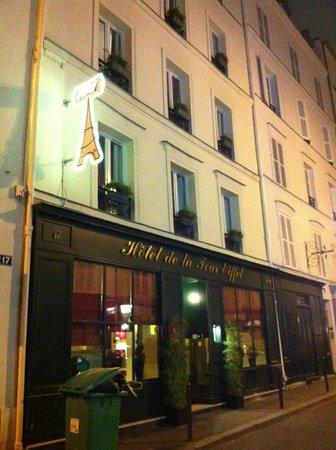 Hotel de la Tour Eiffel: Esterno Hotel