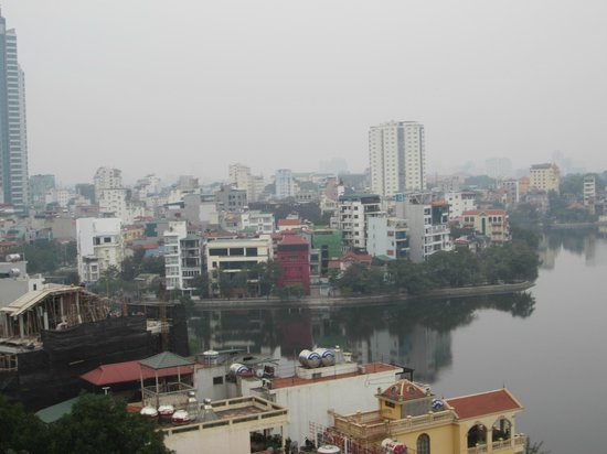 Sofitel Plaza Hanoi: View from the 8th Floor Lake View Room