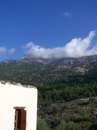 Guesthouse Alonia: View from our room