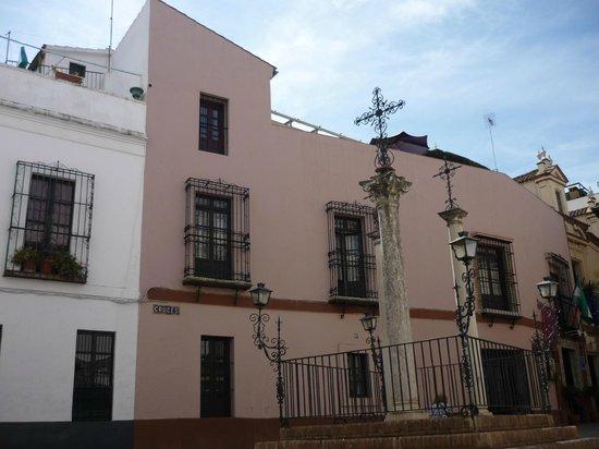 Hotel Patio de las Cruces: La stanza 23 è la finestrella in alto