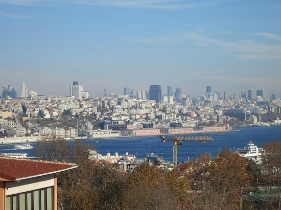 Agora Life Hotel : View of Bosphorus from the room