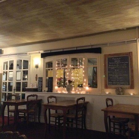 Auberge Du Lac : Lounge