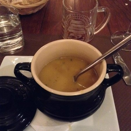 Auberge Du Lac : Apple & Pumpkin soup