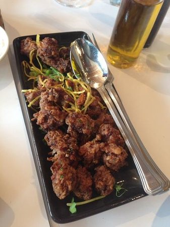 The Old Brewery: deep fried beef