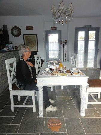 Nymphes Hotel: Lekker ontbijtje