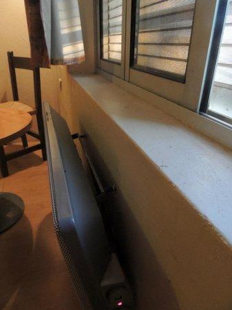 La Maison de Verotte : loshangende radiator