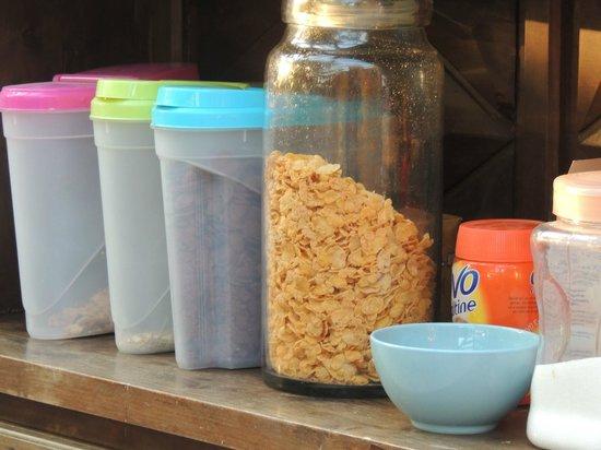 La Maison de Verotte : cornflakes ganse dag in zon