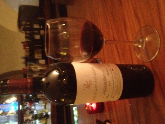 Iberico World Tapas Nottingham : fabulous wine