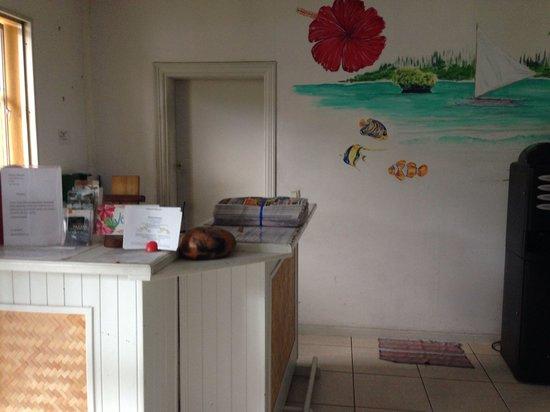 Motel Anse Vata: Lobby area