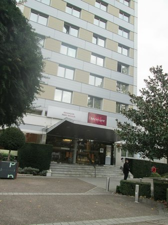 Mercure Besancon Parc Micaud : общий вид отеля