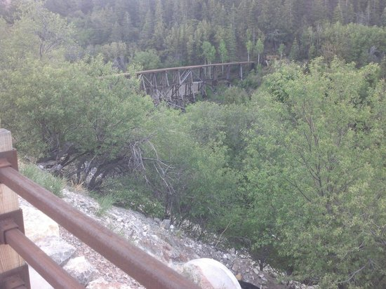 New Mexico Rails-to-Trails : Scary drop