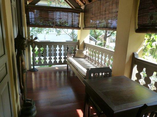 Satri House: Room terrace