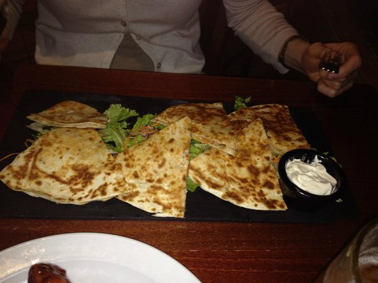 Tony Roma's House Of Ribs : Quessadillas...not what we have expected