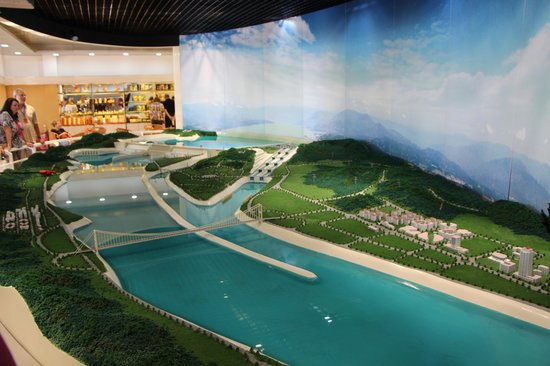 Three Gorges Dam Project : Model of Three Gorges Dam