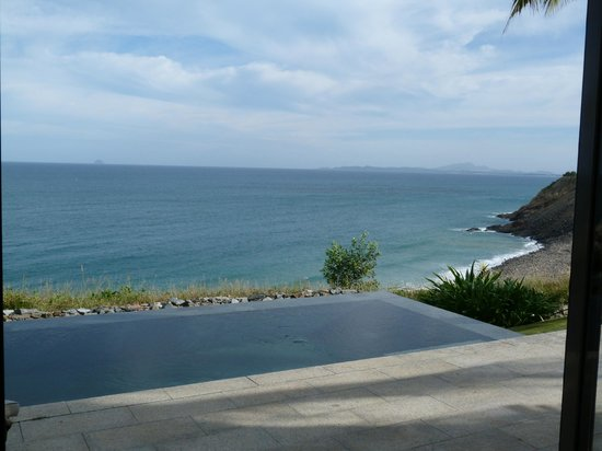 Mia Resort Nha Trang: Room view with private swimming pool