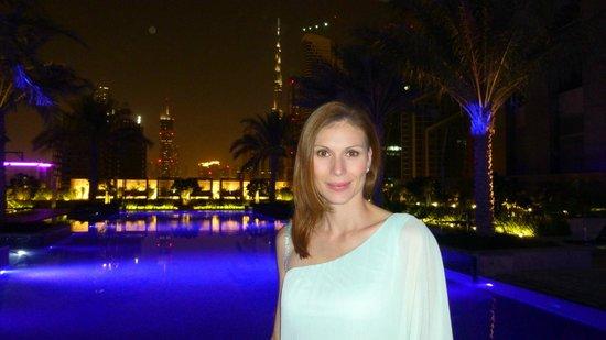 JW Marriott Marquis Hotel Dubai : Pool - 7. Stockwerk