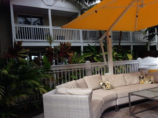 The Inn at Key West : Great garden