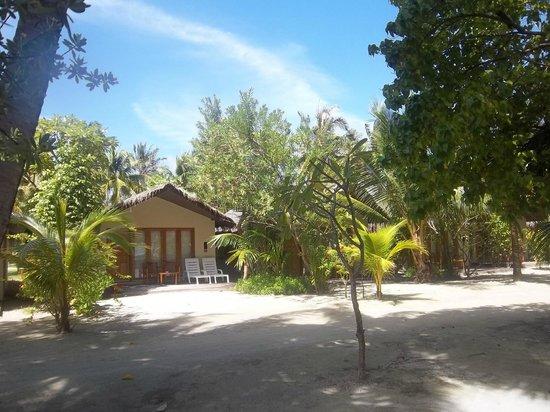 Ocean Villas Hudhuran Fushi: Strandbunglow