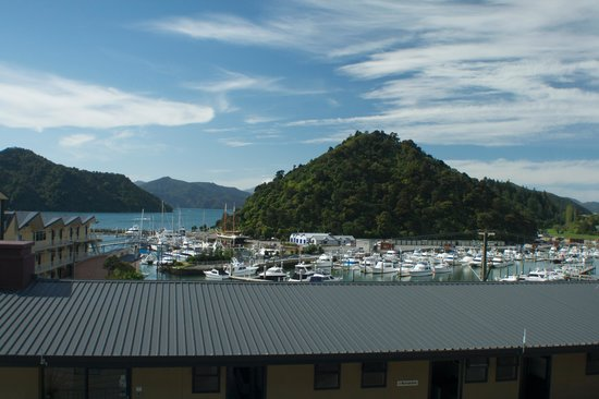 Harbour View Motel Picton: View from our balcony