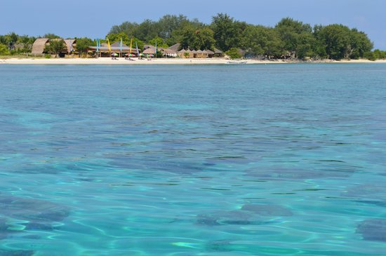 Desa Dunia Beda Beach Resort: On a snorkelling trip, as arranged by the hotel