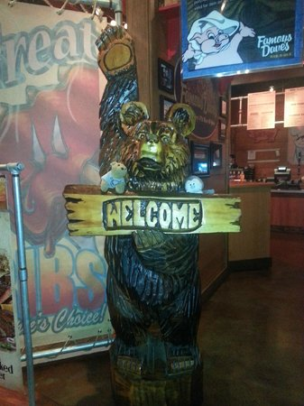 Famous Dave's : Bears in famous daves