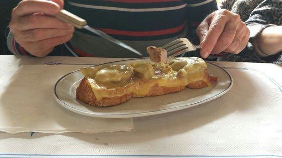 Casa Jeronimo: Muy buena lLa tosta