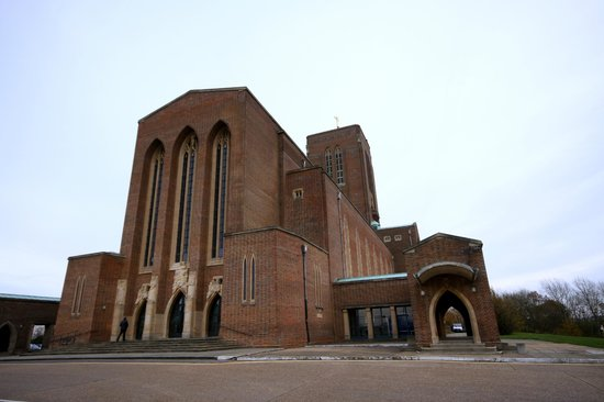 Guildford Cathedral: View from Outside