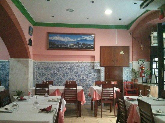 The Shimla Palace: Sala de refeição