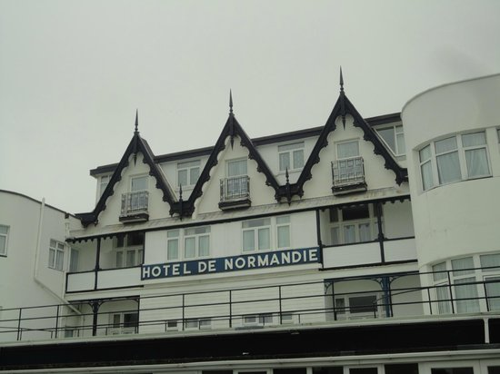 Hotel De Normandie : The Front of Hotel