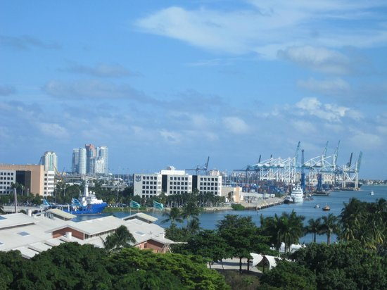 Holiday Inn Port of Miami Downtown: Vista do apartamento