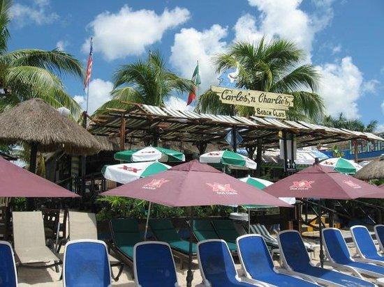 Carlos N Charlie S Beach Club Cozumel